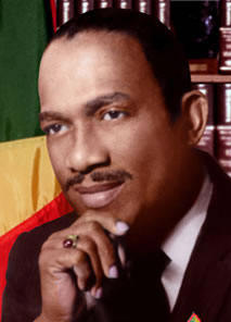 Sir Eric Matthew Gairy (18 February 1922 – 23 August 1997) was the first Prime Minister of Grenada, serving from the country's independence in 1974 until his overthrow in a coup by Maurice Bishop in 1979.