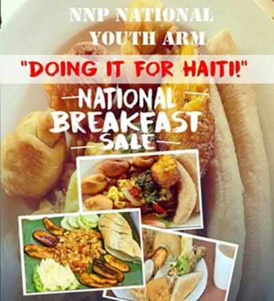doing it for haiti