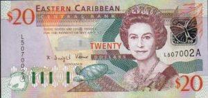 20 dollar note