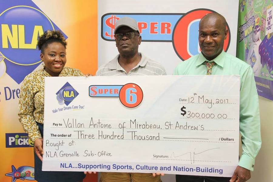 Retired Police Officer Wins Big with Lotto | NOW Grenada