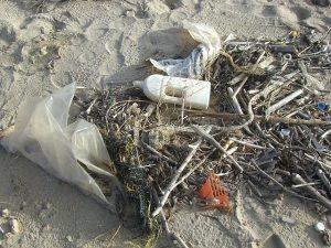 plastic, sea, garbage, trash