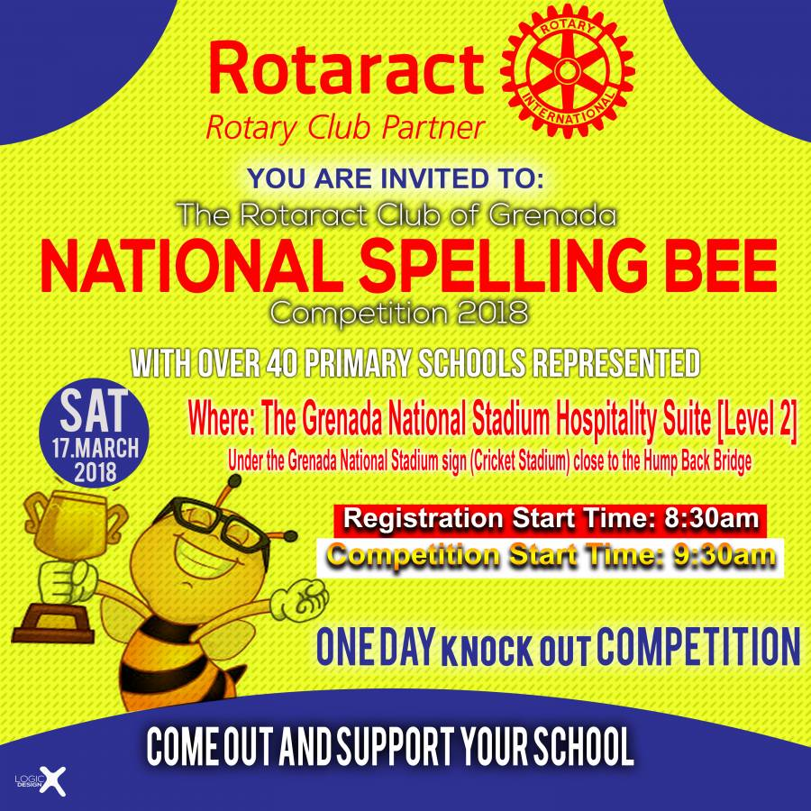 31st Rotaract Club of Grenada National Spelling Bee