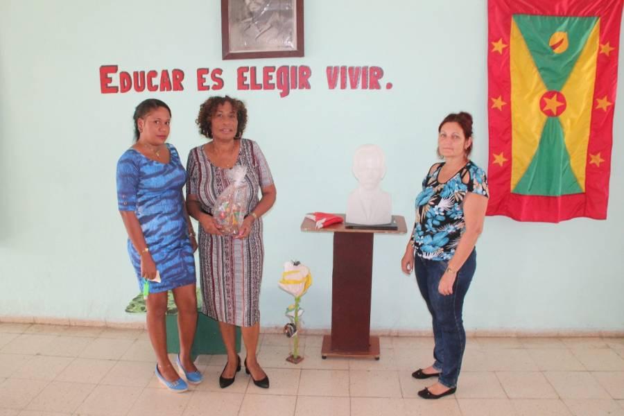 Brooklyn Law School Ranking >> Ambassador Charles visits the Maurice Bishop Special Ed School in Havana | NOW Grenada