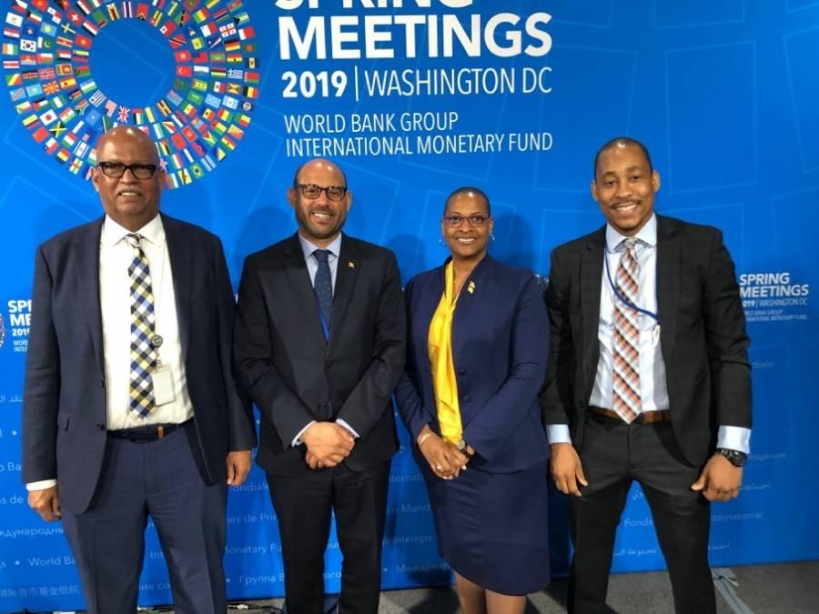 Grenada represented at World Bank/IMF Spring Meetings | NOW