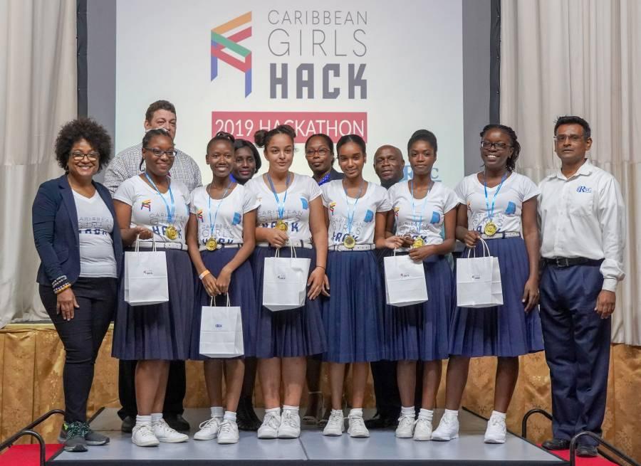 St Joseph's Convent, St George's Wins 2019 Hackathon